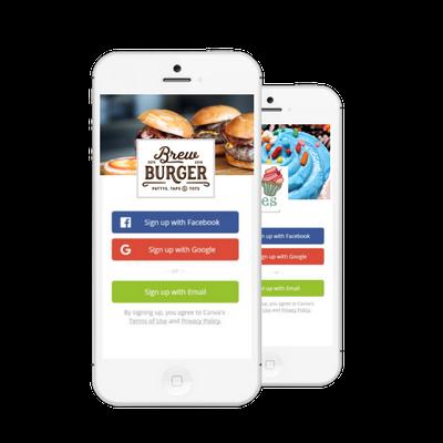 Custom wifi login for restaurants